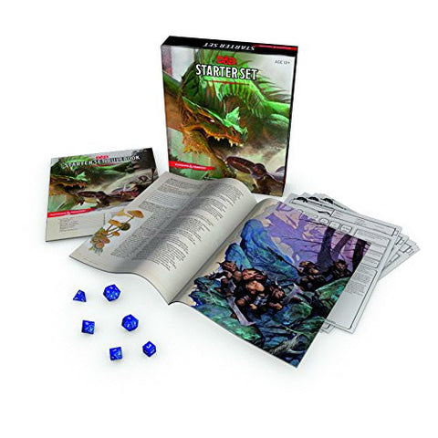D&D Dungeons & Dragons Boxed Starter Set