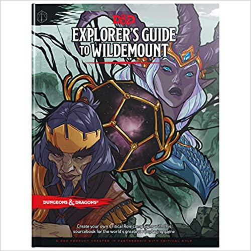 Explorer's Guide to Wildemount (D&D Campaign Setting and Adventure Book) (Dungeons & Dragons 5e)