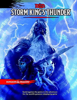 Storm King's Thunder: A Dungeons & Dragons Sourcebook