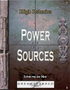 High Psionics: Power Sources