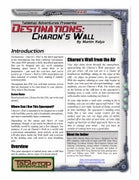Destinations: Charon's Wall