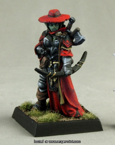 Imrijka, Iconic Inquisitor (Pathfinder Miniature)