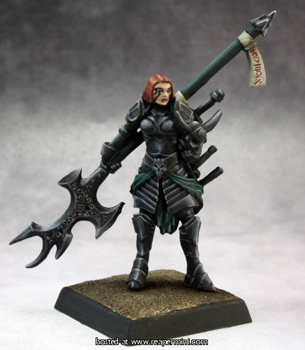 Hellknight: Order of the Pyre (Pathfinder Miniature)