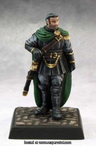 Hellknight Captain (Pathfinder Miniature)
