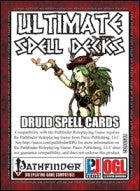 Ultimate Spell Decks: Druid Spell Cards