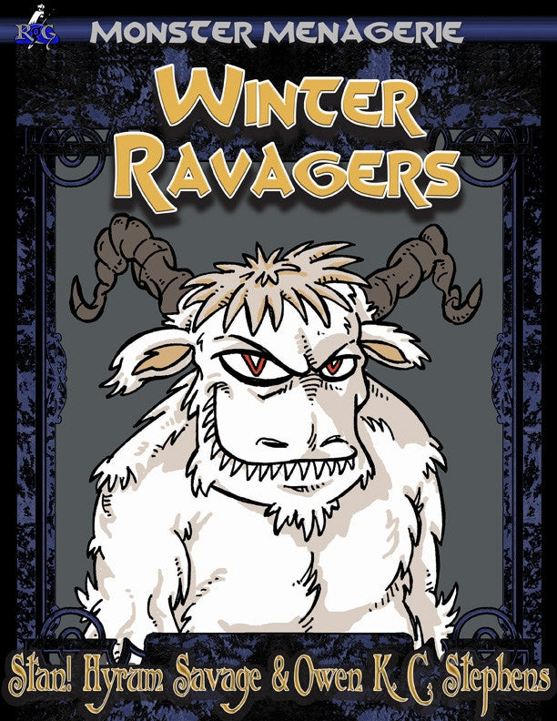 Monster Menagerie: Winter Ravagers