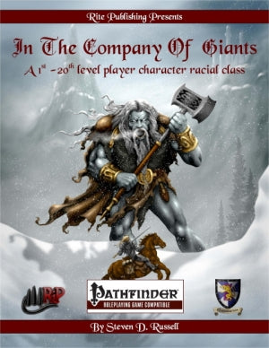 In the Company of Giants (PFRPG)