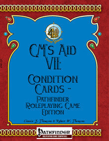 GM's Aid VII: Condition Cards