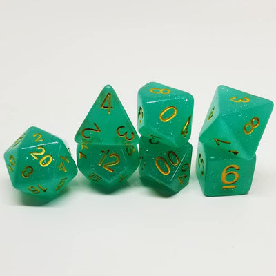 Fey Glamour Dice Set
