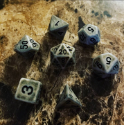 Viking Steel Dice Set
