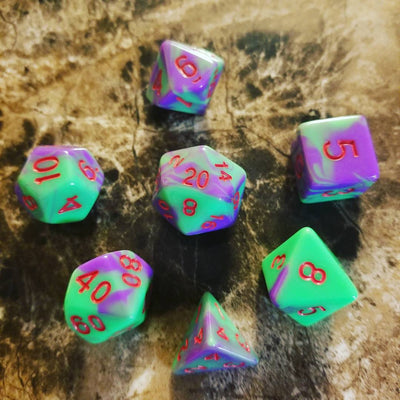 Zombie Flesh Dice Set