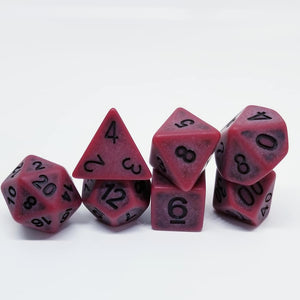 Fighter Red Dice Set
