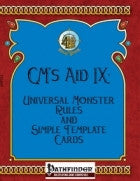 GM's Aid IX: Universal Monster Rules