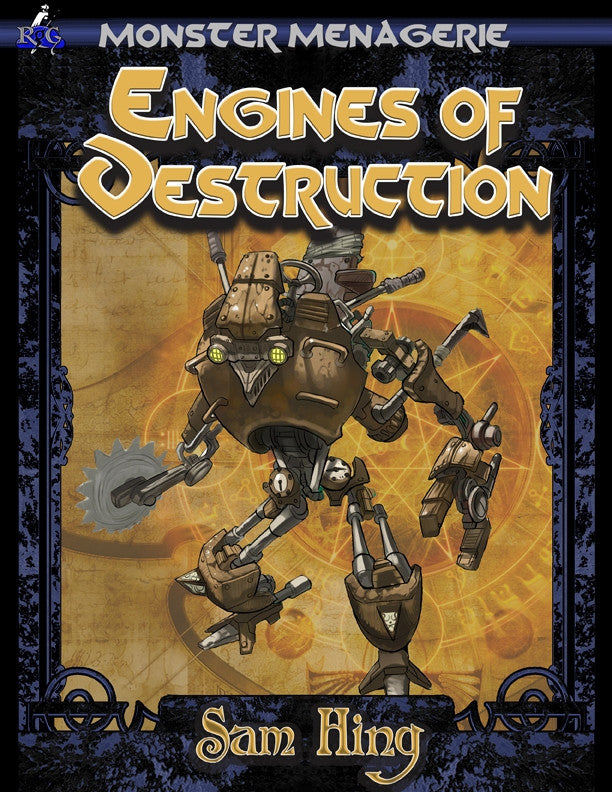 Monster Menagerie: Engines of Destruction