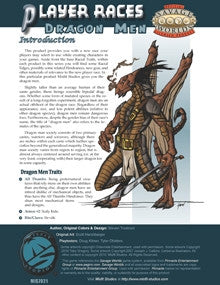 Player Races: Dragon Men