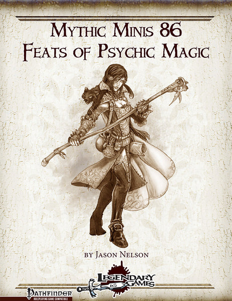 Mythic Minis 86: Feats of Psychic Magic