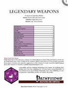 Legendary II: Legendary Weapons