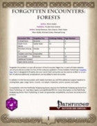 Forgotten Encounters: Forests