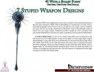 #1 with a Bullet Point: 7 Stupid Weapon Designs
