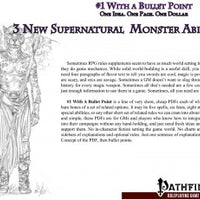 #1 with a Bullet Point: 3 New Supernatural Monster Abilities