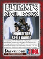 Ultimate Spell Decks: Inquisitor Spell Cards