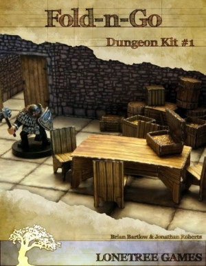 Fold-N-Go: Dungeon Kit #1