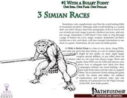 #1 with a Bullet Point: 3 Simian Races