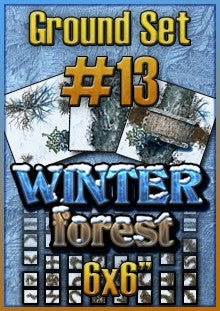 Ground Set #13 - Winter Forest