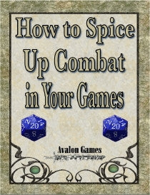 How to Spice Up Combat