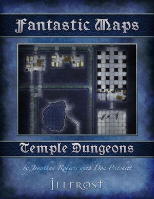 Fantastic Maps - Illfrost: Temple Dungeons