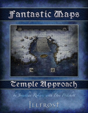 Fantastic Maps - Illfrost: Temple Approach