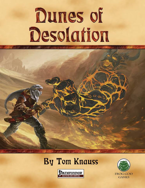 Dunes of Desolation (PFRPG)