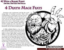 #1 with a Bullet Point: 4 Death Mage Feats