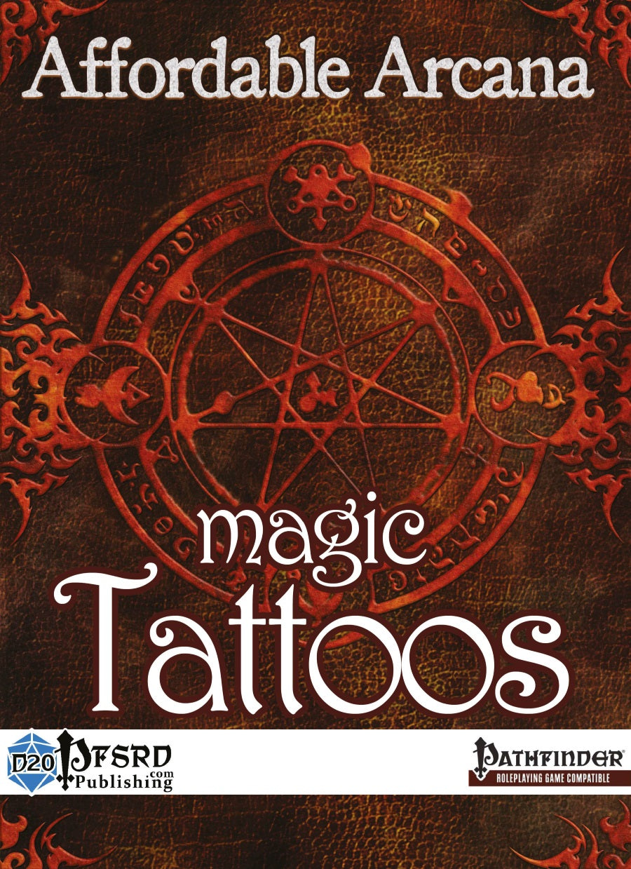 Affordable Arcana - Magic Tattoos