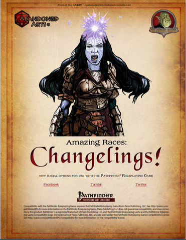 Amazing Races: Changelings!