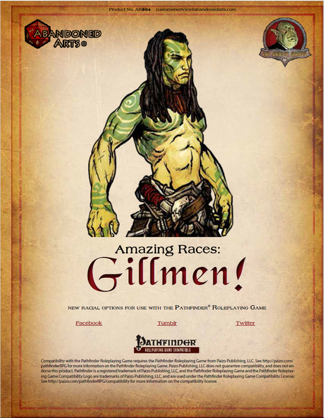 Amazing Races: Gillmen!