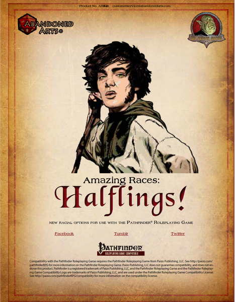 Amazing Races: Halflings!