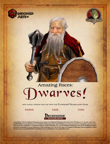 Amazing Races: Dwarves!