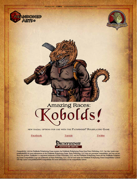 Amazing Races: Kobolds!