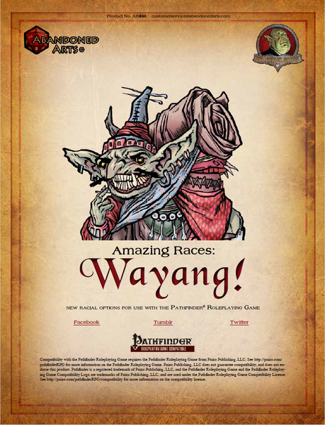 Amazing Races: Wayangs!