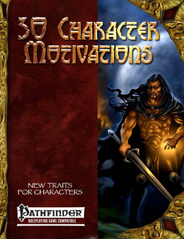 30 Character Motivations