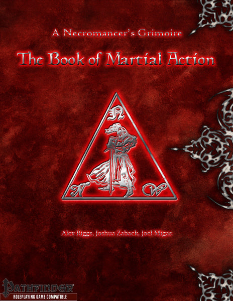 A Necromancer's Grimoire - The Book of Martial Action