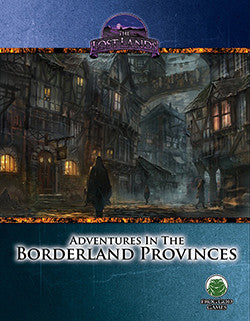Adventures in the Borderland Provinces (Swords & Wizardry)