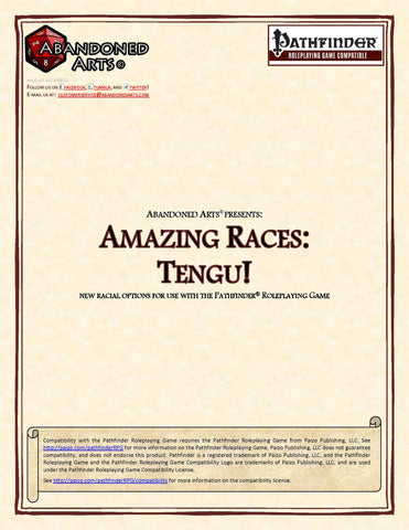 Amazing Races: Tengu!
