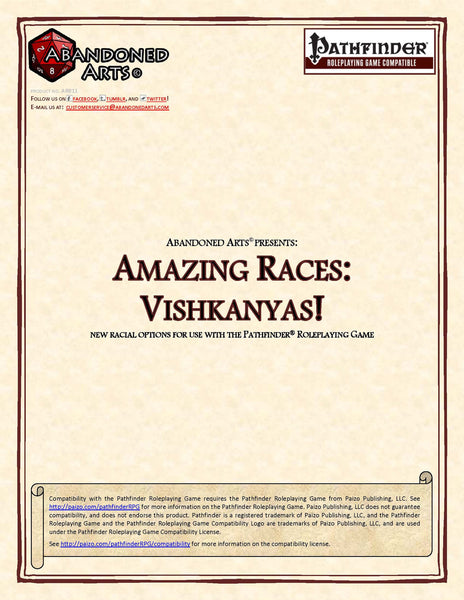Amazing Races: Vishkanya!