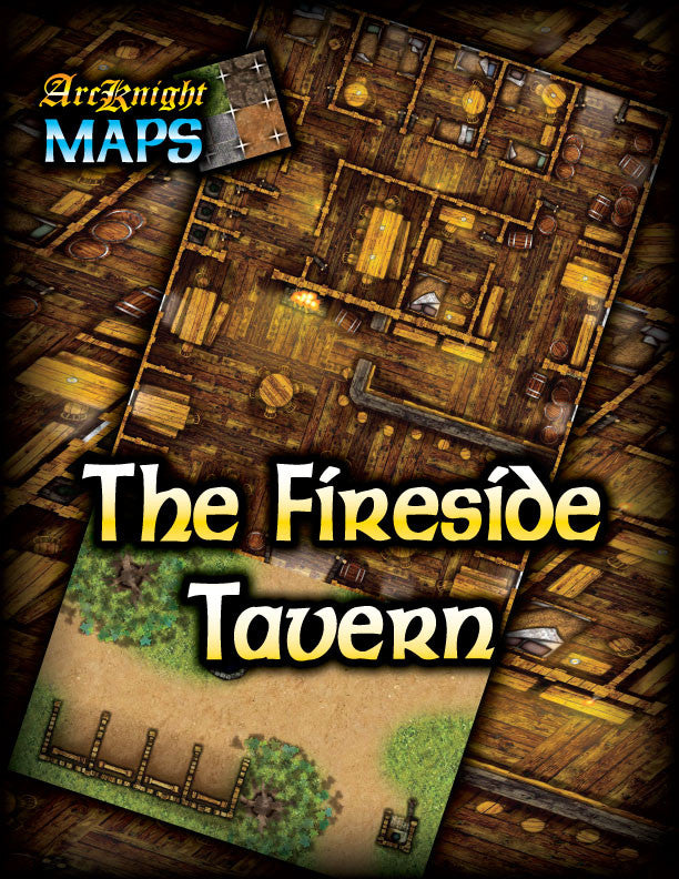 Arcknight Maps : The Fireside Tavern
