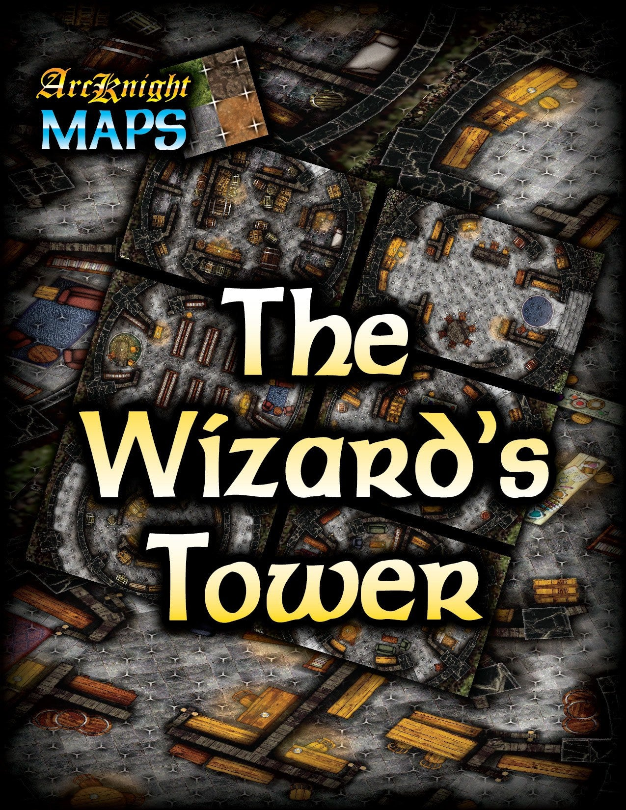 Arcknight Maps The Wizard S Tower Open Gaming Store
