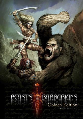 Beasts & Barbarians Golden Edition (Savage Worlds)