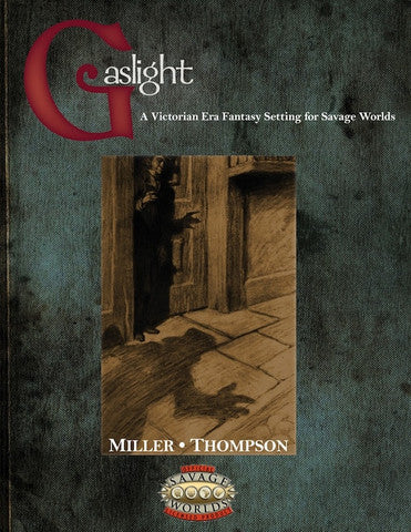 Gaslight Victorian Fantasy Hardcover (Savage Worlds)