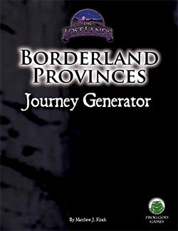 Borderland Provinces Journey Generator